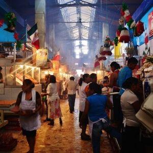 Pasillo de Humo, Mercado 20 de Noviembre